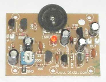 分立otl电路元件包